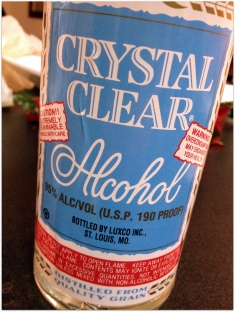 Crystal Clear Alcohol
