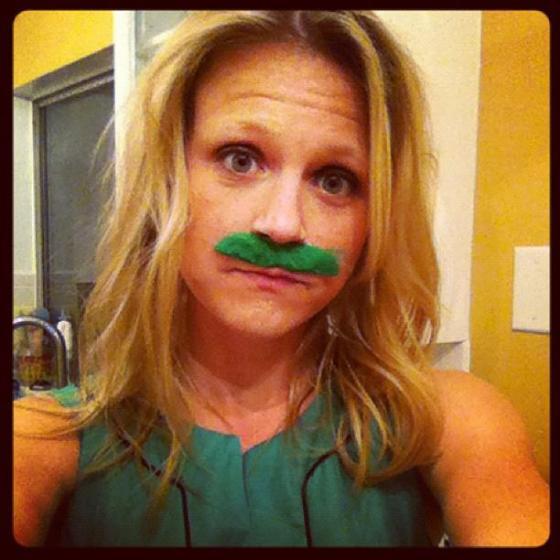 St. Patrick's Day Moustache