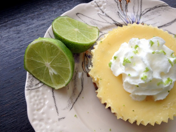 Mini Key Lime Pie Closeup