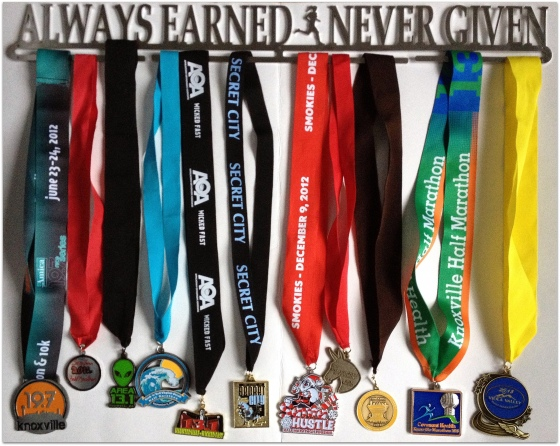 Always Earned Never Given Medals