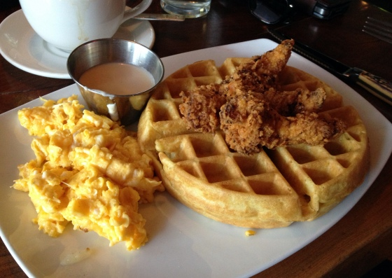 Founding Farmers Chicken and Waffles