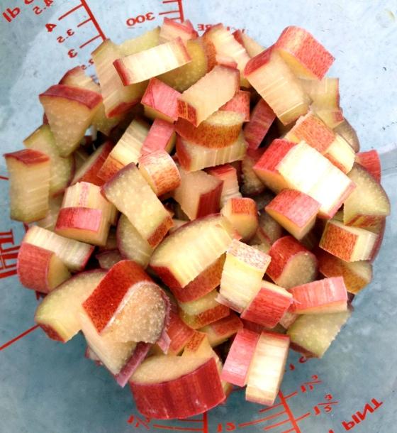 Rhubarb Chunks