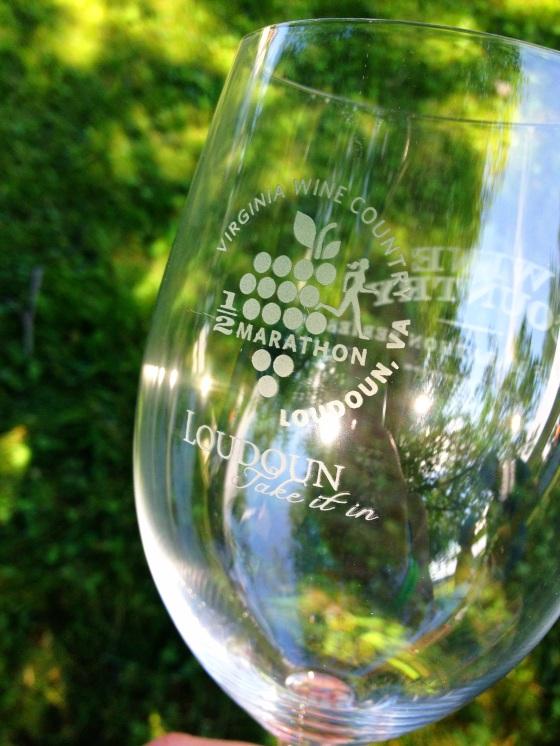VA Wine Country Half Wine Glass